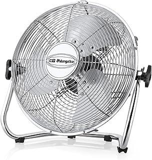 Orbegozo 16924 Ventilador industrial Power Fan, aspas metálicas de 50 cm de diámetro, 3 velocidades de ventilación, asa de transporte y rejilla de seguridad, 155 W de potencia, No aplica