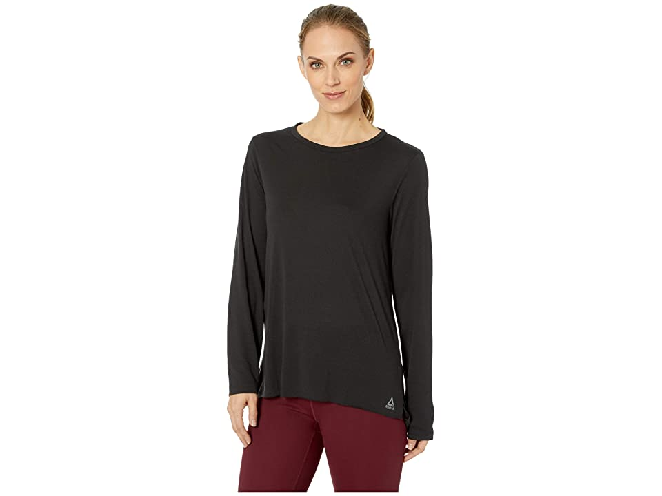 Reebok Supremium V-Neck Tee (Black 1) Women