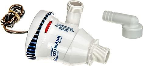 attwood 4653-7 Tsunami Series 800 GPH Fully Submersible Aerator Pump, White Finish