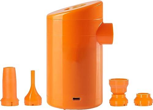 LIANGJING Pompe à air électrique USB Ultra-légère extérieure Pompage Gonflable La Plupart des Produits gonflables sont Disponibles