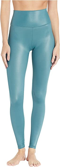 7/8 High Waist Shine Leggings