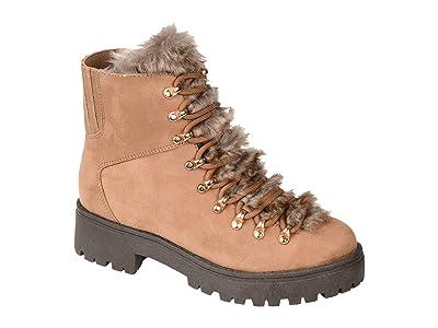 Journee Collection Comfort Foam Trail Boot (Tan) Women