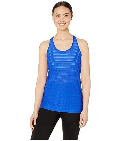 New Balance Q Speed Breathe Stripe Tank Top (UV Blue) Women