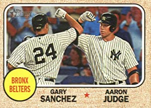 2017 Topps Heritage High Numbers Combos #CC-2 Aaron Judge/Gary Sanchez NM-MT Yankees