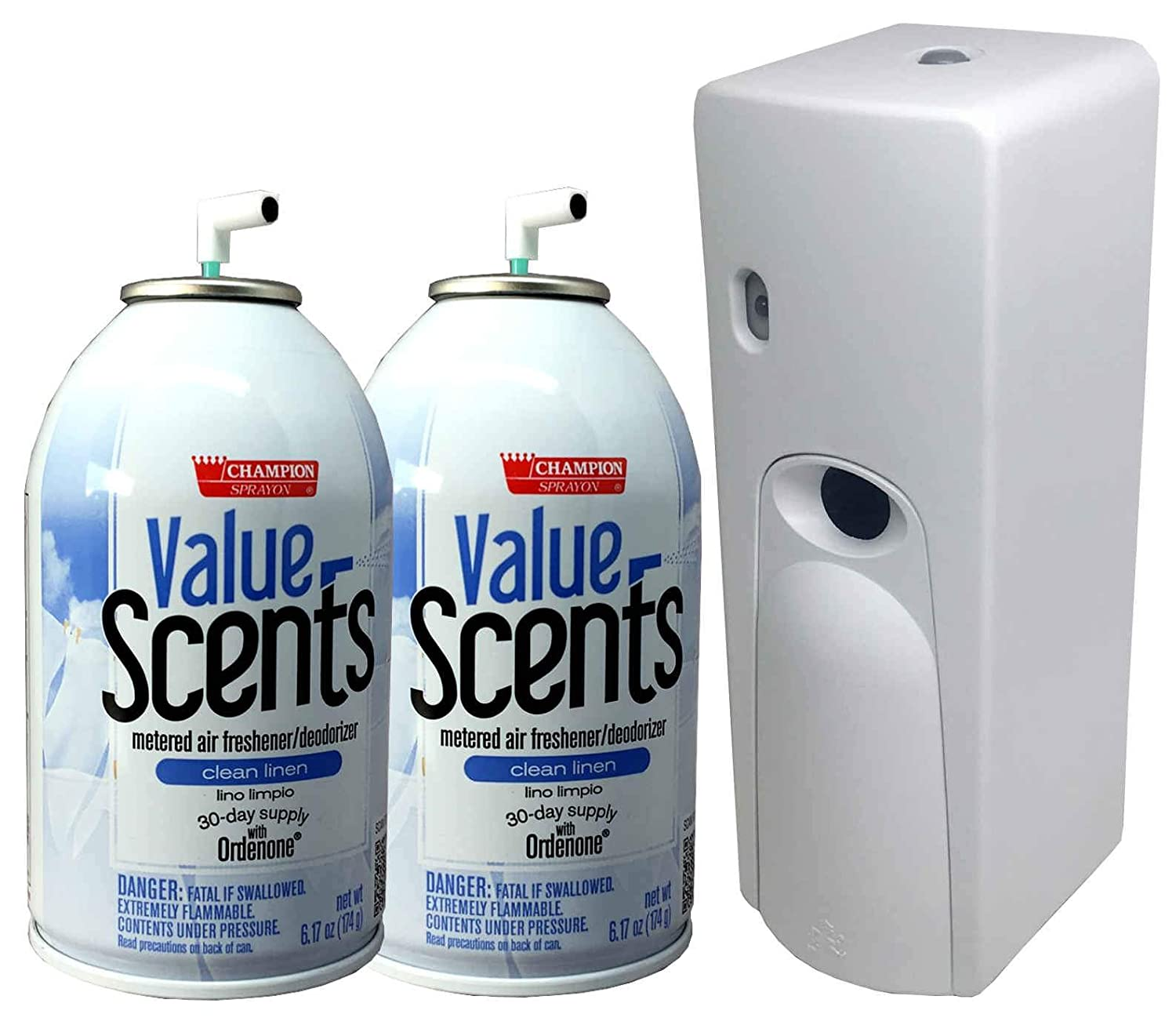 Classic Automatic New Free Shipping Spray Air Freshener Kit 1 with Dispenser Refills 2