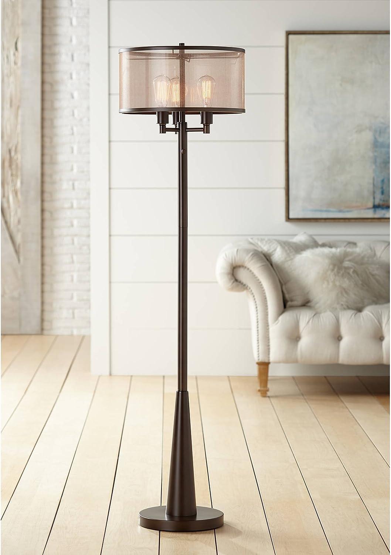 Durango Rustic Farmhouse Vintage New Free Shipping Standing Choice Oil Lamp Floor 3-Light