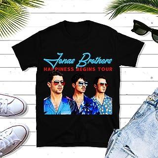 Jonas-Boyband Tour-Happiness 2019 Music Big Fans Gift, Tour Concert Music Unisex T-shirt - Premium T-shirt - Hoodie - Sweater - Long Sleeve - Tank Top