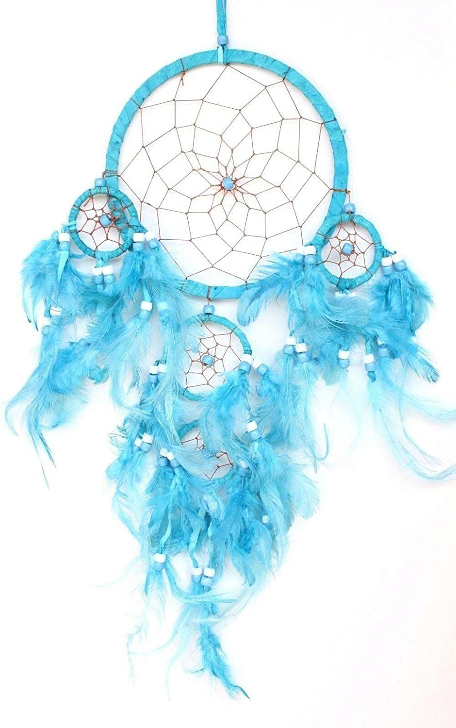 Turquoise Ranking TOP9 Blue Dream Catcher W Wall Ranking TOP19 Leather Feather Home Car