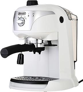 Delonghi EC221W Pump Espresso and Coffee Machine, 1.4 L - Silver