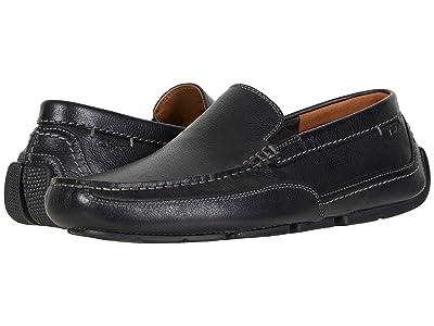 Clarks Ashmont Step (Black Tumbled Leather) Men