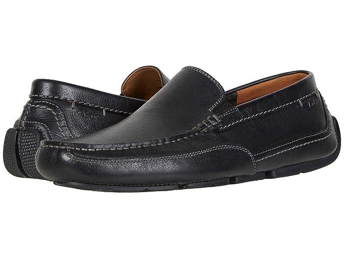 Clarks  Ashmont Step (Black Tumbled Leather) Mens Shoes