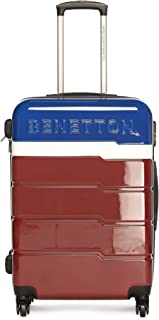 United Colors of Benetton Multi Color Polycarbonate 50 cms Blue/White/Red Hardsided Cabin Luggage (0IP6MP20HL03I)