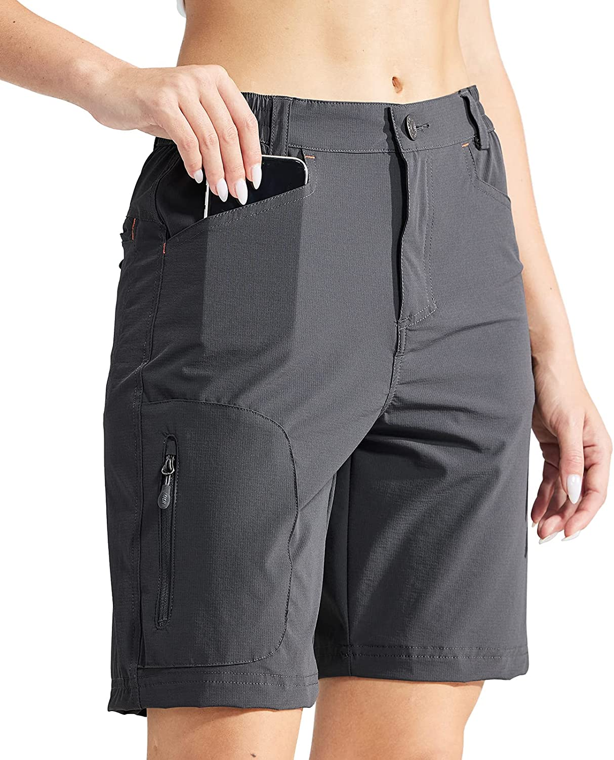 MIER Las Store Vegas Mall Women's Quick Dry Stretchy Shorts Lightweight Travel Hiking