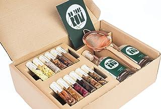 Kit DIY d'Infusion pour Rhum arrangé et Vieilli, Do Your Rum - Idée Cadeau Originale, 12 mélanges de Bois et arômes nature...