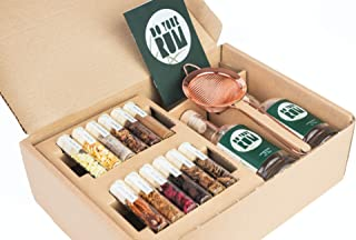 DO YOUR GIN Kit DIY d'Infusion pour Rhum arrangé et Vieilli, Idée Cadeau Originale, 12 mélanges de Bois et arômes naturels...