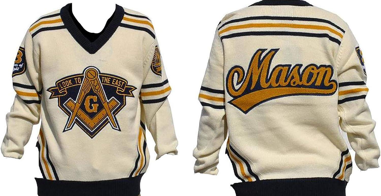 Big Boy Headgear Sales of SALE items from new works Mason Masonic Long-awaited V-Neck Sweater
