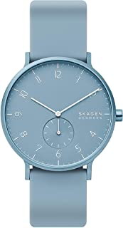 Skagen Aaren Kulør Analog Blue Dial Unisex's Watch-SKW6509