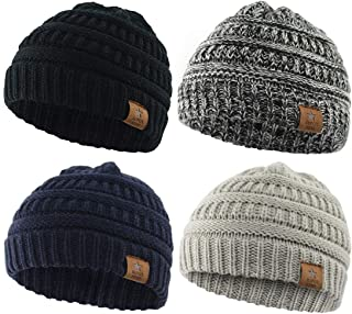 Soft Warm Knitted Baby Hats Caps Cute Cozy Chunky Winter...
