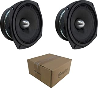 2 x 5.25 Midrange Speaker 700W 8 Ohm Pro Car Audio Mids VFL 525MR photo