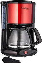 Moulinex FG360D Subito Filterkoffiezetapparaat, glazen kan, 10-15 kopjes, automatische uitschakelfunctie, roestvrij staal,...