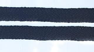 5/8'' Black Weave Ribbon Trim, Clothing, Pillows, Drapes - Braid 5 Yds