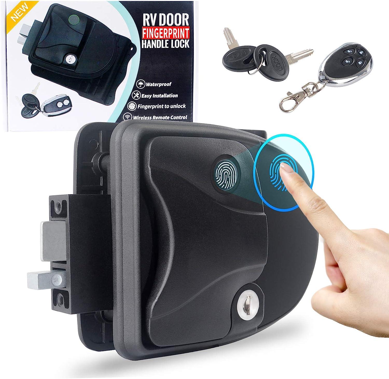 ZGAUTO RV In a Gifts popularity Door Lock with fo Unlock Keys Fingerprint