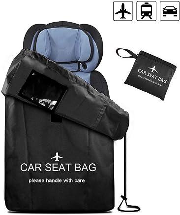 UMJWYJ Large Gate Check Travel Luaage Bag with Backpack Shoulder Straps, Lightweight Baby Car Seat