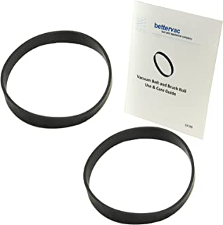 Black+Decker Compact Lightweight Upright Vacuum Belt 2 Pack #0105 Bundled With Use and Care Guide