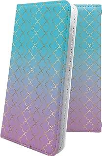 MADOSMA Q601 ケース 手帳型 モロッカン ハワイアン ハワイ 夏 海 マドスマ 手帳型ケース チェック チェック柄 madosmaq601 ボタニカル