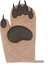 Bear Oven Mitts,Funny and Cute Kitchen Gloves High Heat Resistance for Cooking,Baking,Frying,BBQ,Outdoor Camping Cook(1 Pair)