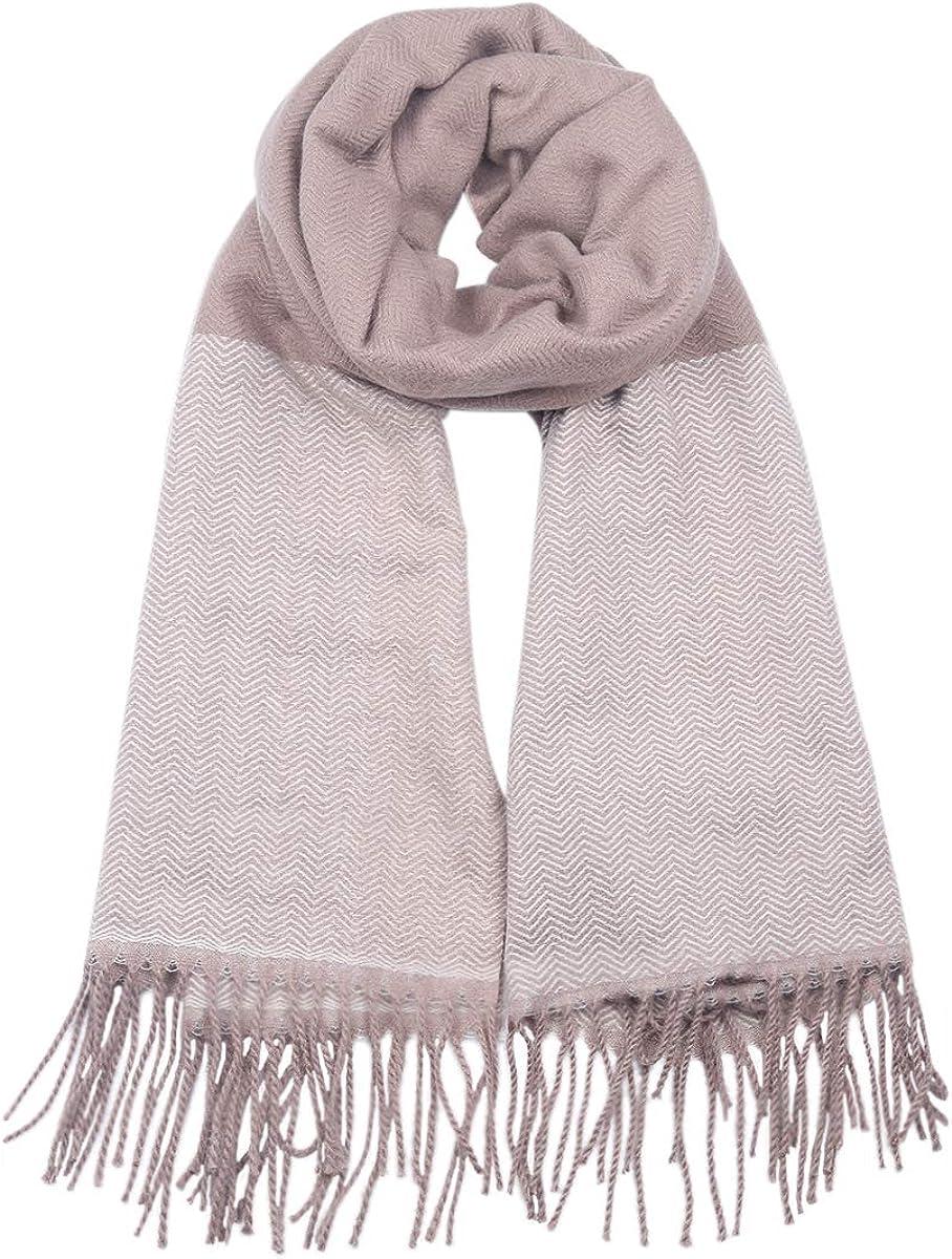 DEBAIJIA Donna Sciarpa Foulard Scialle Signora Cachemire Morbida Lungo Accogliente Calda Autunno Invernal