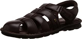 Hush Puppies Men's Rebound Leather Flip Flops Thong Sandals