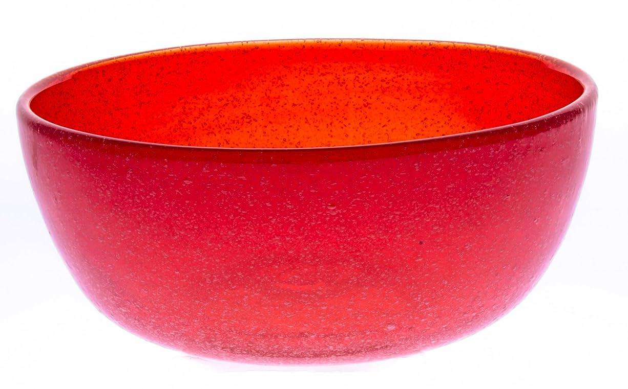 インレイタクシー説明的アールジーシー(RGC) 小鉢 オレンジ サイズ:径120×高50mm 鉢?ボウル