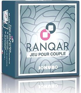 Jokubo RANQAR | Jeu pour couple - Jeu de société pour adulte - Jeu de cartes coquin | cadeau de Mariage, cadeau pour coupl...