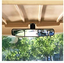 10L0L 2019 Newest Wide Rear View Convex Golf Cart Mirror for EZ Go, Club Car, Yamaha