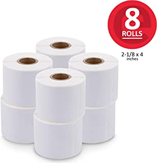 enKo (8 Rolls, 1760 Labels) Dymo Compatible Address & Shipping Labels 30323 (30573) (2-1/8 x 4