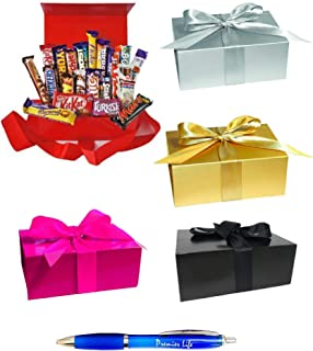 21 x MULTIPACK Chocolate Lovers Assorted Gift Box Cadbury Nestle Bars with Premier Life Pen