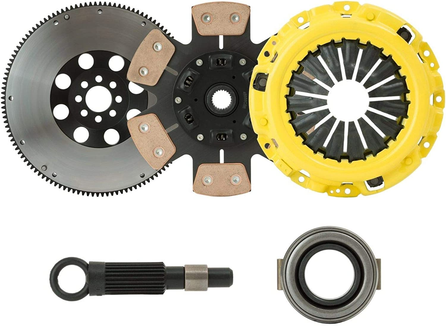 ClutchXperts Stage Same day shipping 4 Safety and trust Sprung Compatible KIT With Clutch+FLYWHEEL