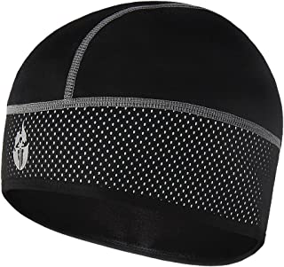 Wolfbike Bike Cycling Thermal Fleece Outdoor Sports Helmet Hat Cap - All Black