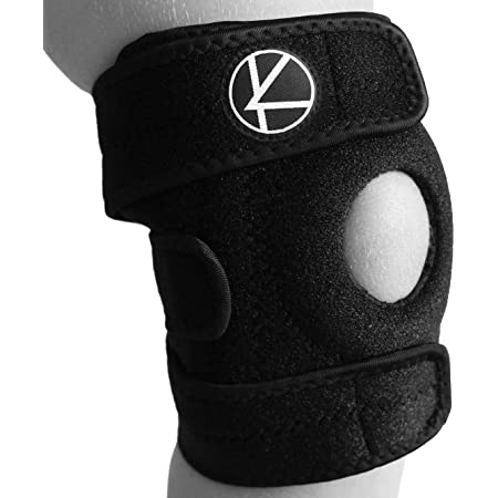 Kuangmi Adjustable Kid Child Knee Support Brace Protector Child Sports Safety