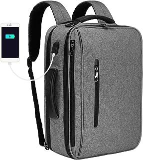 SLOTRA Convertible Backpack 15.6 Laptop Bag 3 in 1 Carry On Backpack Briefcase Messenger Shoulder Bag With Removable Strap...
