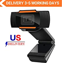 Webcam 1080P Full HD Auto Focus Web Camera with Microphone Widescreen USB Computer Camera..