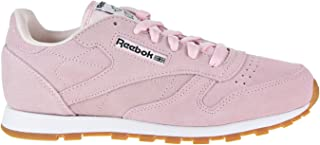 Reebok Classic Leather Pastels Shoe Junior's Running Pink