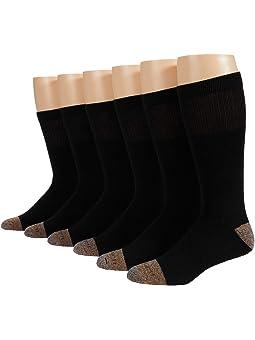Carhartt Steel Toe Crew Socks 6-Pack
