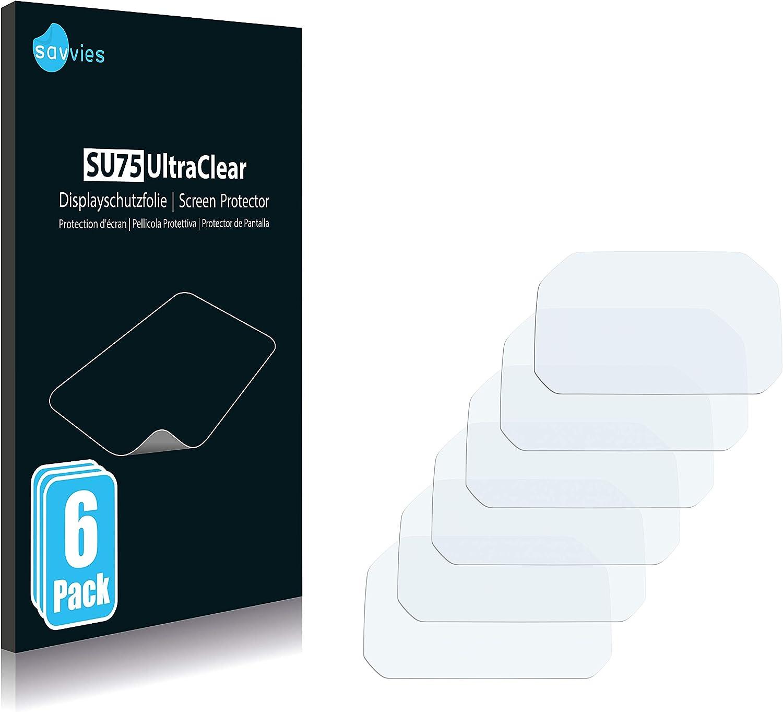 Savvies 6x Schutzfolie Kompatibel Mit Bmw R 1200 Gs Elektronik