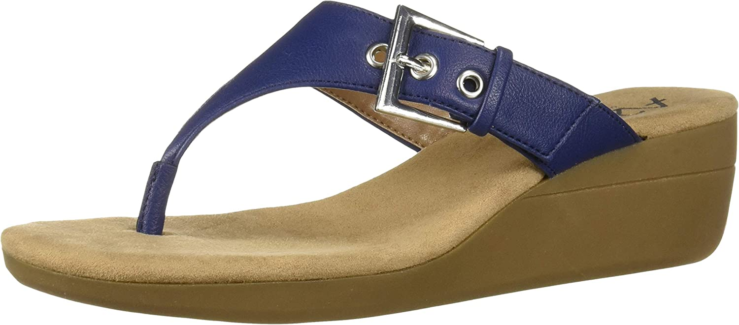 Aerosoles Womens Work Flow Wedge Sandal