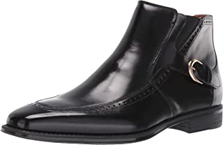 STACY ADAMS Men's Patton Side-Zip Dress Boot Ankle