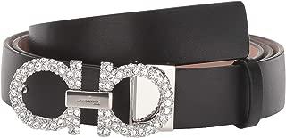 Salvatore Ferragamo Women's New Gancini Jewel Adjustable Belt