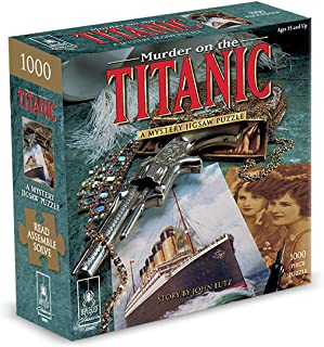 Puzzle - Murder On The Titanic 1000Pc