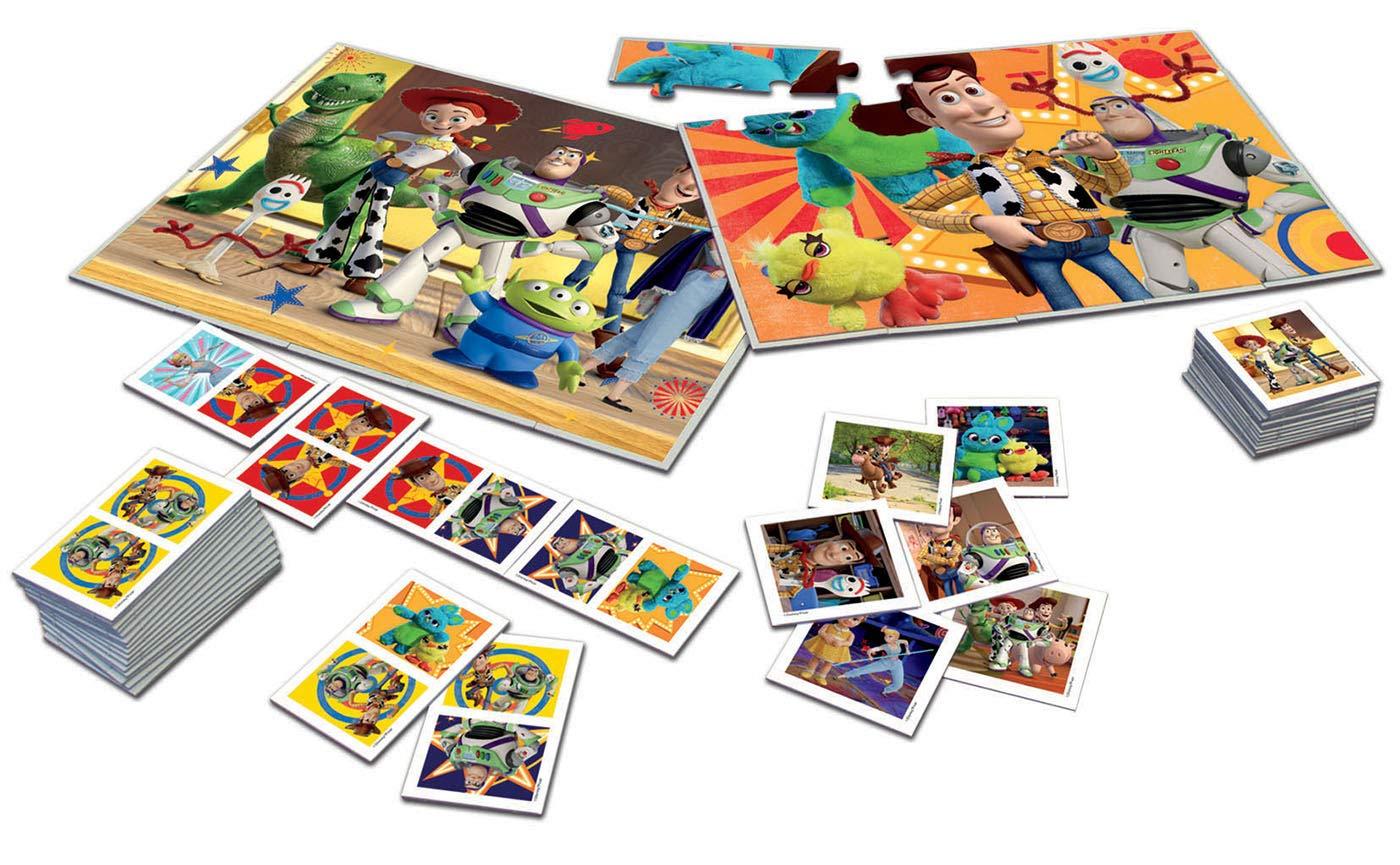Educa - Superpack Toy Story, Contiene 2 puzzles, 1 juego de memoria y 1 domino, a partir de 3 años (18348): Amazon.es: Juguetes y juegos